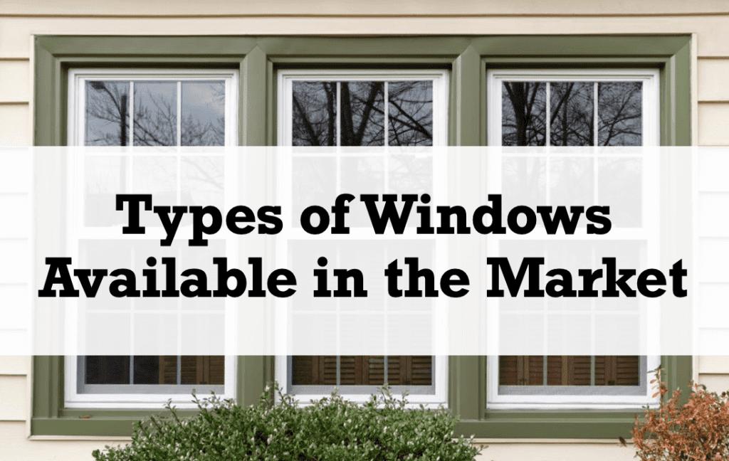 Window Design 101